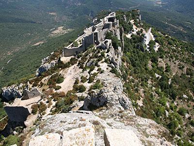 Peypertuse Cathar castle
