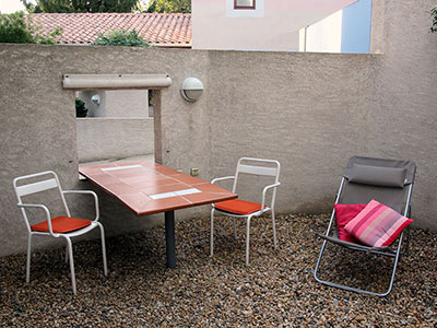 apartment 3 — outside seating area
