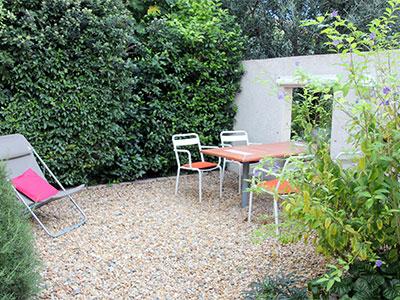 apartment 1 private garden